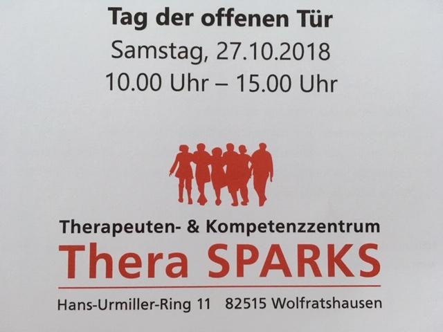 Tag der offenen Tür am 27.10. im Therapie- und Kompetenzzentrum TheraSparks in Wolfratshausen